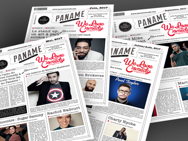 Le Paname Comedy club – Paris